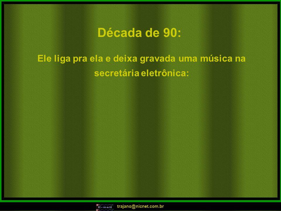 trajano@nicnet.com.br Década de 80: