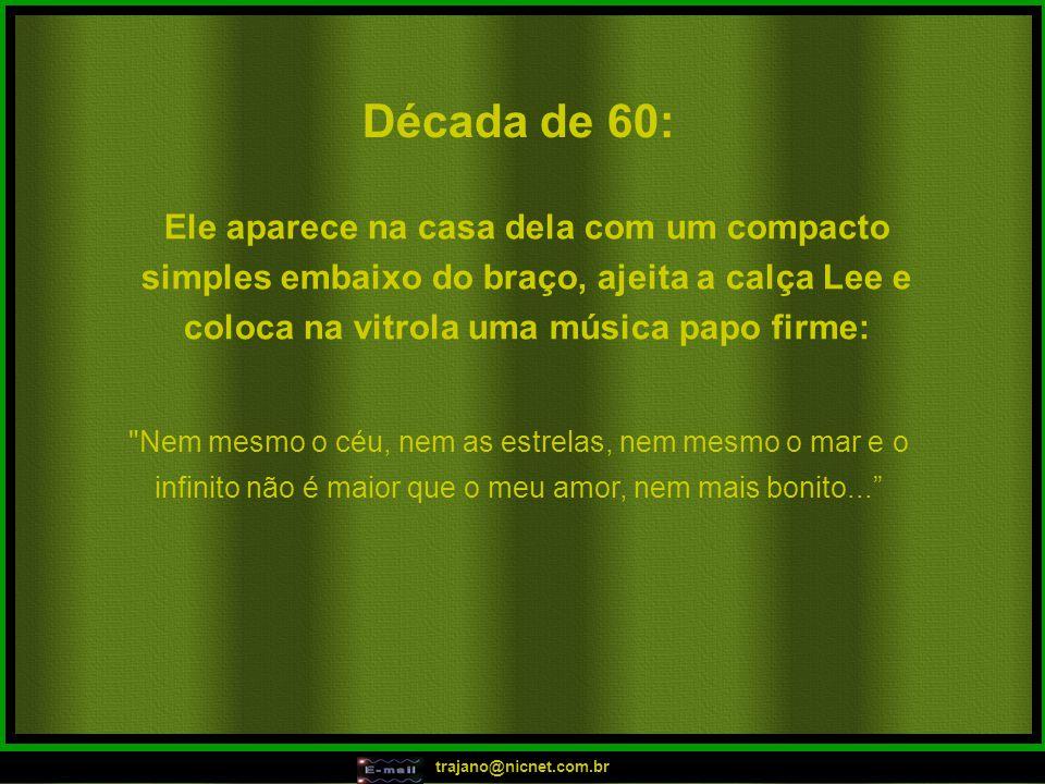 trajano@nicnet.com.br Em 2006: Tô ficando atoladinha, tô ficando atoladinha, tô ficando atoladinha!!.