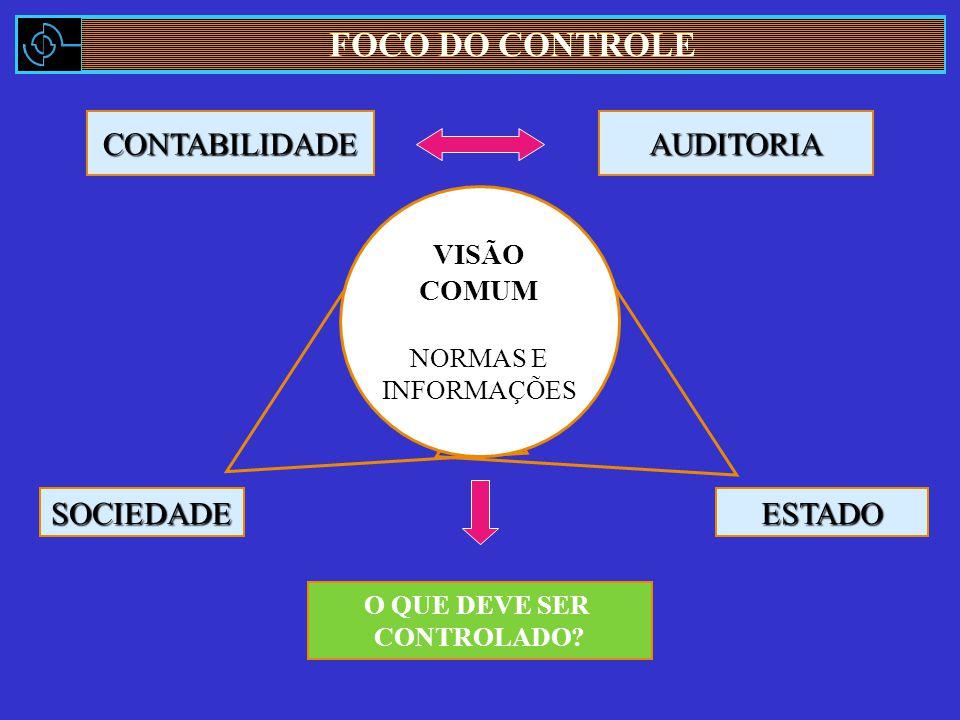 CONTABILIDADEAUDITORIA O QUE DEVE SER CONTROLADO.