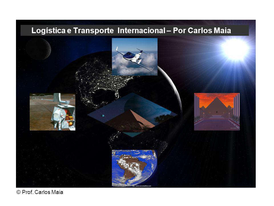 © Prof. Carlos Maia Logística e Transporte Internacional – Por Carlos Maia