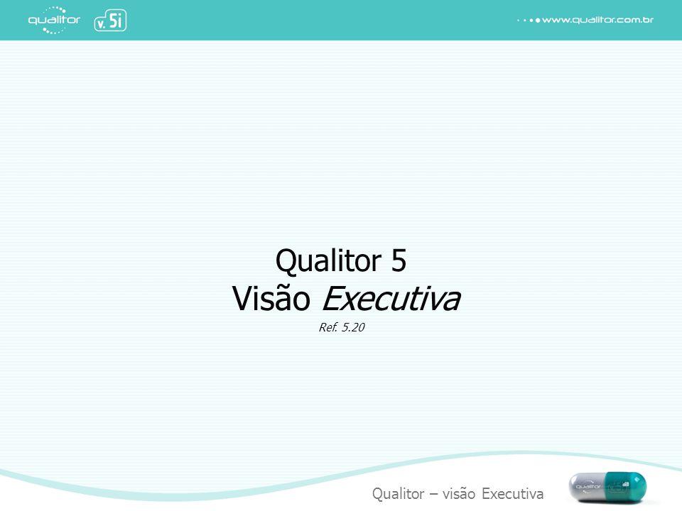 Qualitor – visão Executiva Atendimento a usuários Usuário com necessidade, atendido pela central, seu problema registrado e solucionado.