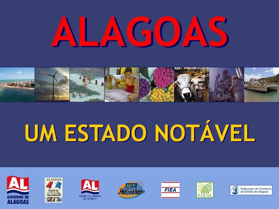 TÓPICOS A - Proposta B - Processo de notabilização C - Alagoas: Estratégias de Desenvolvimento D - Alagoas: Oportunidades de Negócios E - Processo de promoção e atração de investidores