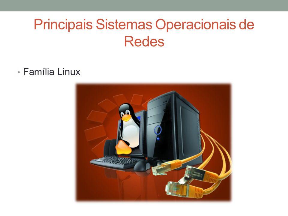 Linux Server Existem várias distribuições que vêm com núcleo Linux e que possuem as mesmas funções, com pequenas alterações que se adaptam ao gosto do administrador de rede.