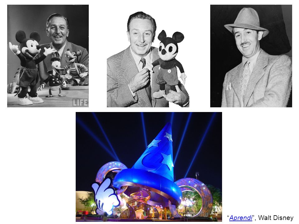 Aprendi , Walt DisneyAprendi