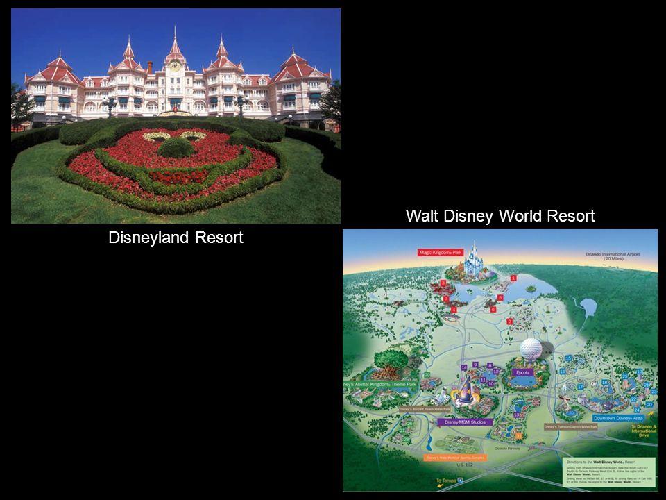 Disneyland Resort Paris Hong Kong Disneyland Resort Tokio Disney Resort