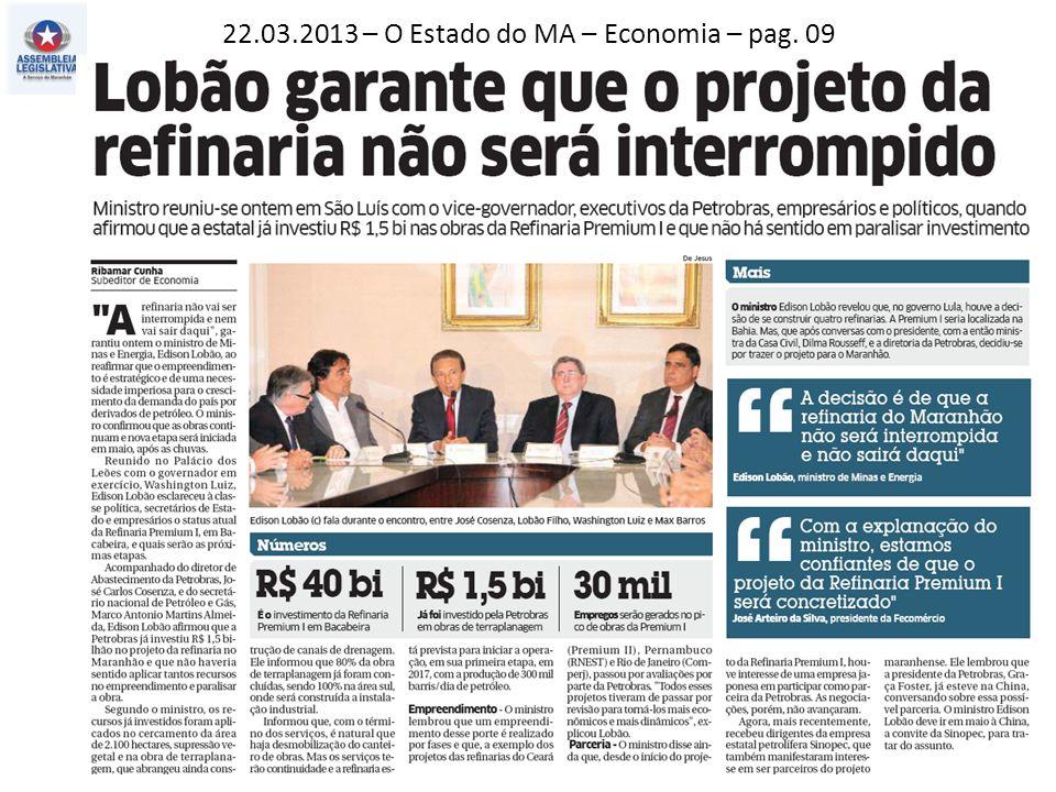 22.03.2013 – O Estado do MA – Política – pag. 03