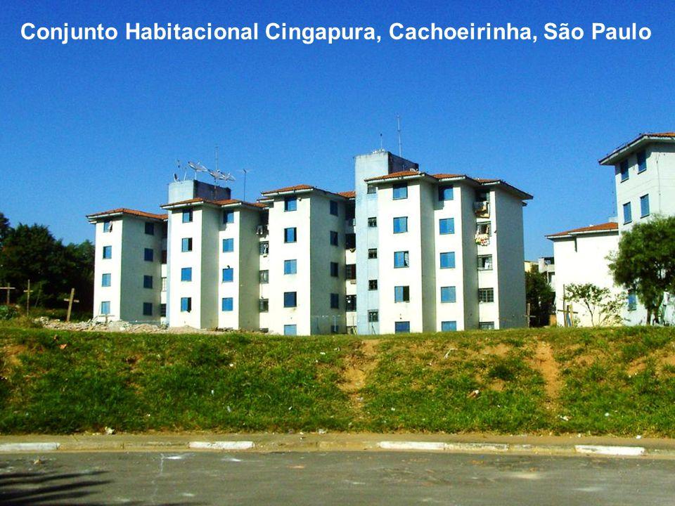 Conjunto Habitacional Cingapura, Cachoeirinha, São Paulo