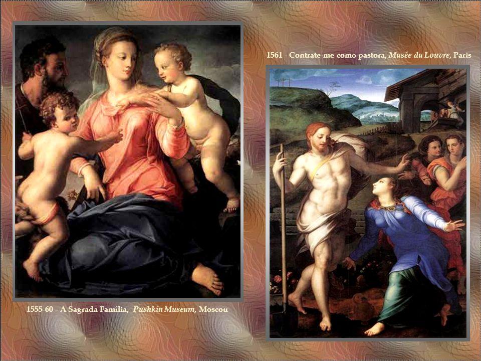 A habilidade de Bronzino com nus foi melhor explorada no celebrado Venus, Cupid, Folly, and Time ( National Gallery, Londres), que transmite fortes se