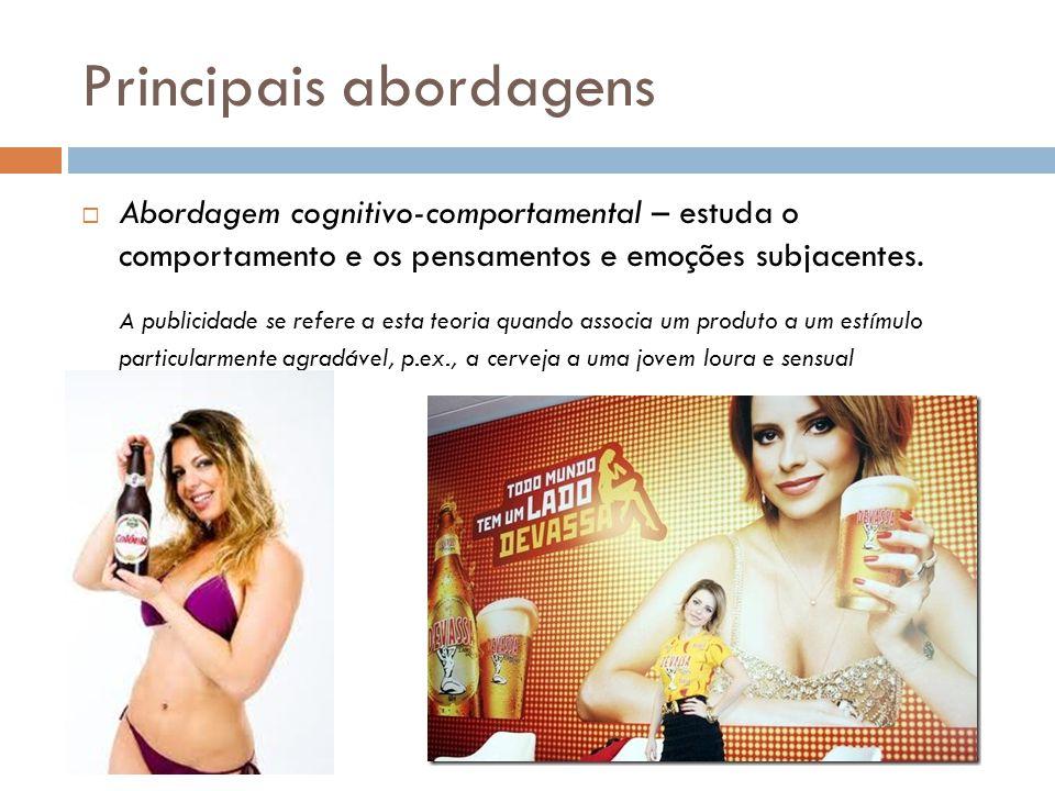 Influência da mídia Os anúncios publicitários procura direcionar-nos para o consumo.