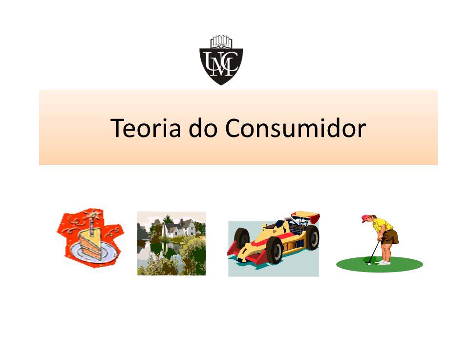 Teoria do Consumidor – O excedente do consumidor Excedente do consumidor é a diferença entre a utilidade total de um bem e o seu valor de mercado total.