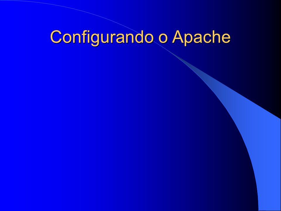 Configurando o Apache