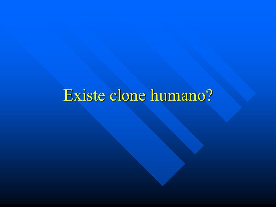 Existe clone humano?