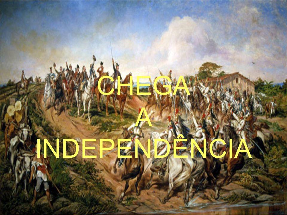 POLÍTICA EXTERNA D.João VI 1816 → Guiana Francesa 1817-1821 → Cisplatina