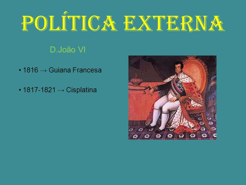 REVOLUÇÃO PERNAMBUCANA 1817 Crise econômica ∟ Queda das exportações de açúcar ∟ Sentimento antilusitano Iluminismo ∟ Revolução Francesa ∟ Independência dos EUA ∟ Independência da América Espanhola