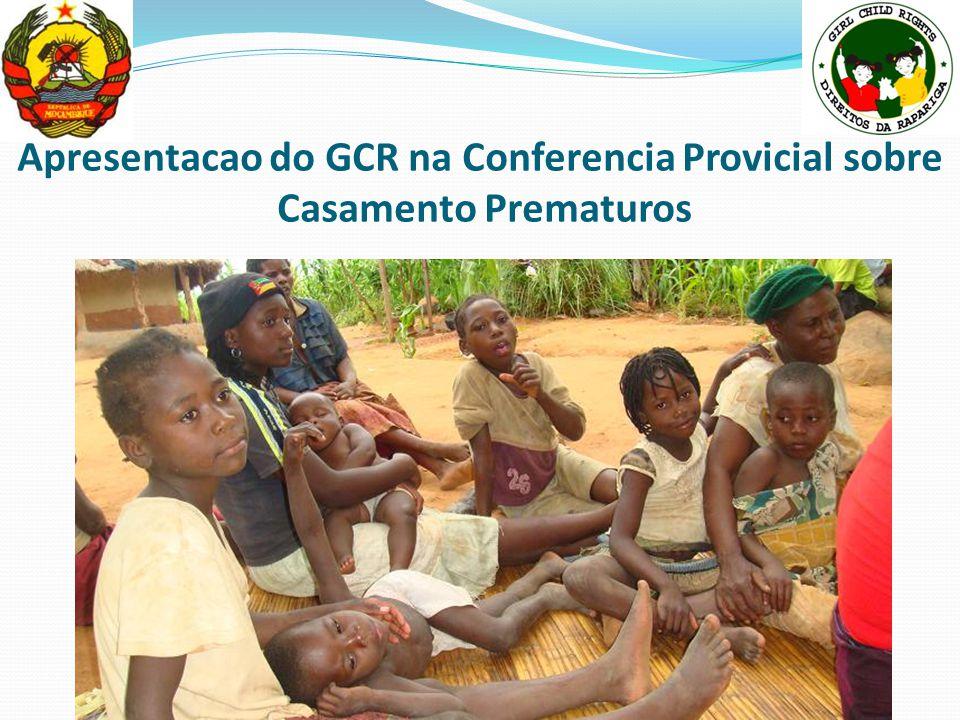 Apresentacao do GCR na Conferencia Provicial sobre Casamento Prematuros