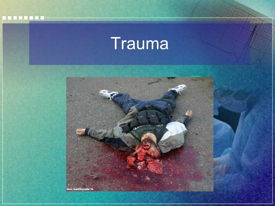Trauma Aberto Trauma Abdominal Aberto Paciente instável.