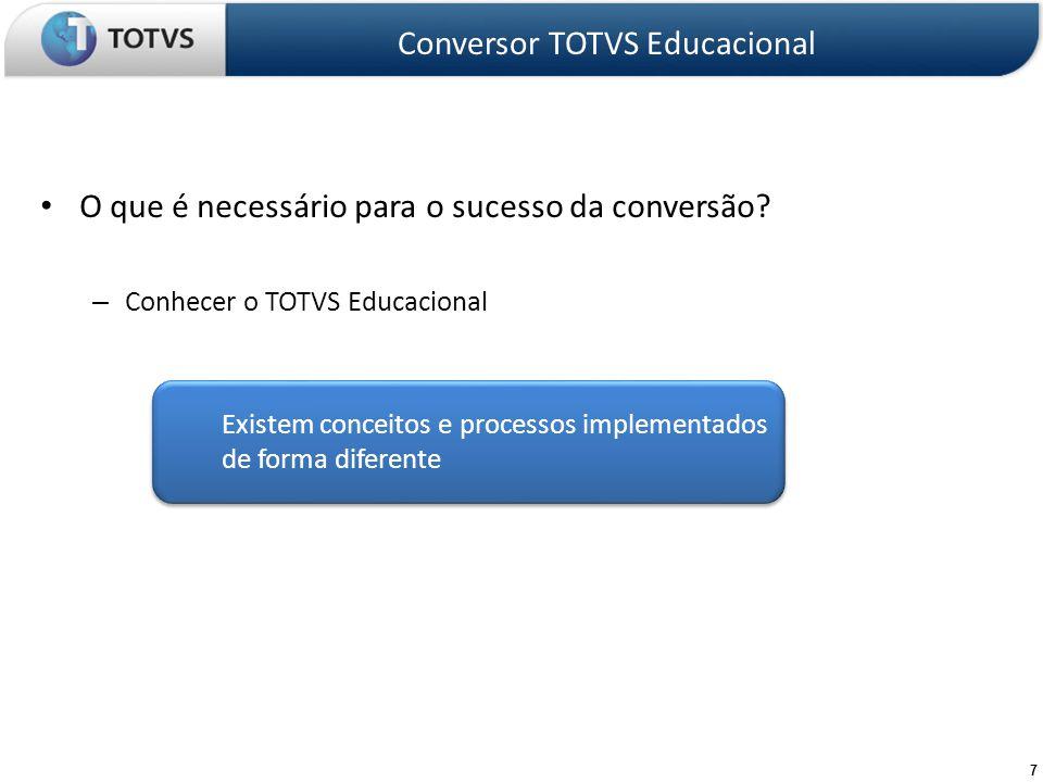 38 Analisa Conversão Conversor TOTVS Educacional