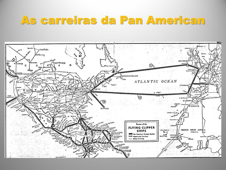 As carreiras da Pan American