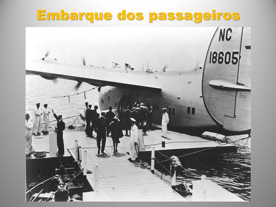 Embarque dos passageiros