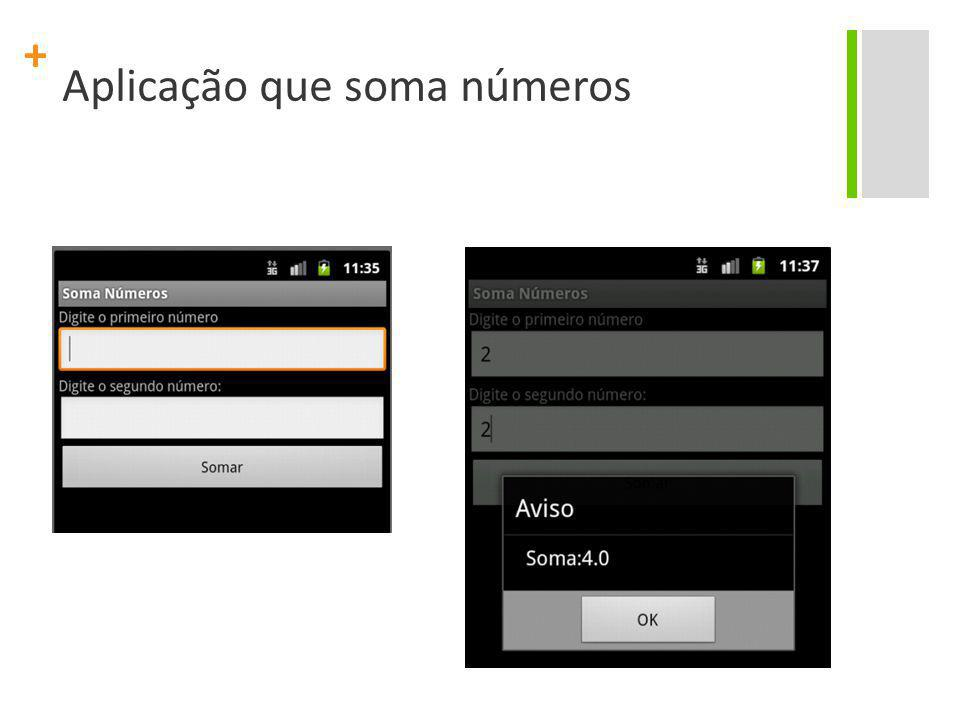 + Aplicação que visualiza imagens v1.0 Project Name: AppImagem Package Name: br.org.citi.appimagem Create Activity: MainActivity Application Name: Visualizador de Imagens Build SDK: 16