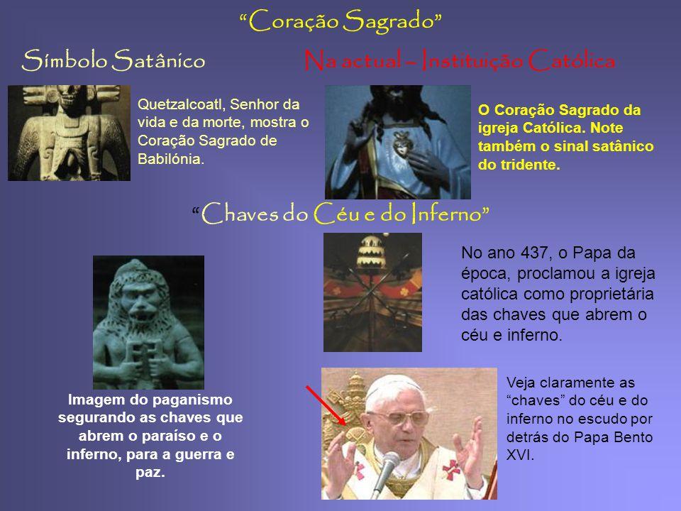Símbolo SatânicoNa actual – Instituição Católica Pinha cone de Pinheiro 2.