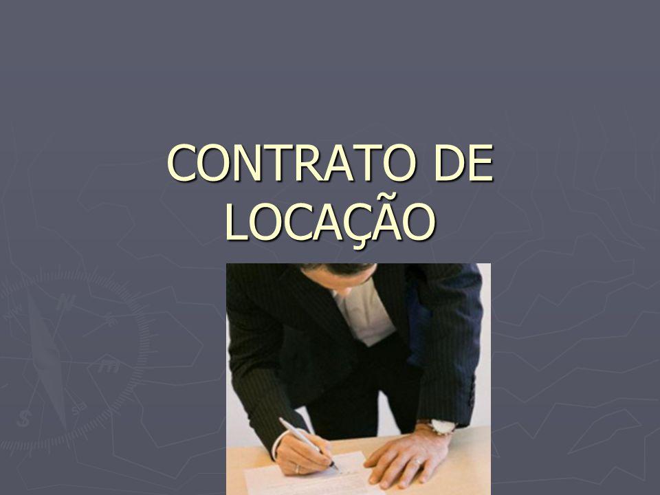 CONTRATO DE LOCAÇÃO