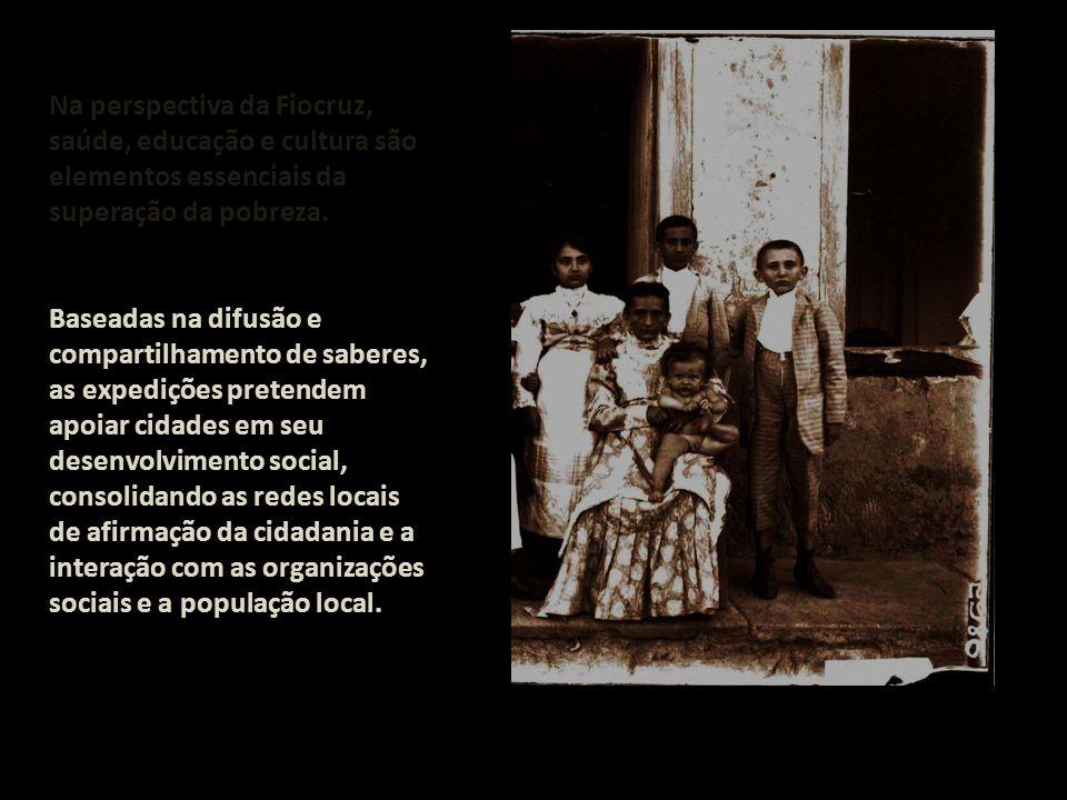 Na perspectiva da Fiocruz, saúde, educação e cultura são elementos essenciais da superação da pobreza.