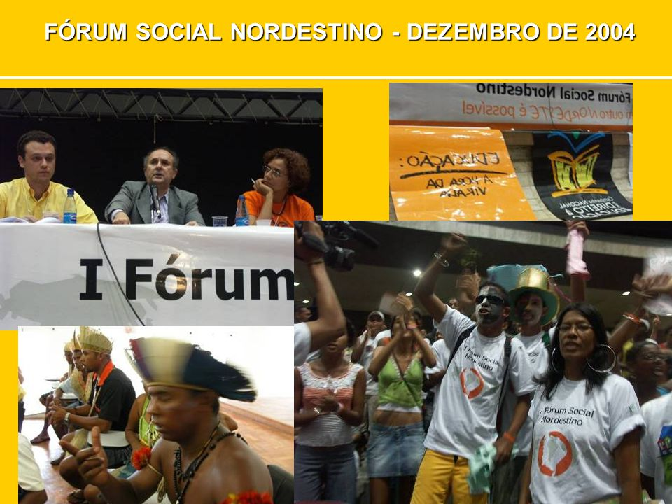 6º ENCONTRO NACIONAL OUTUBRO DE 2007 – BRASÍLIA