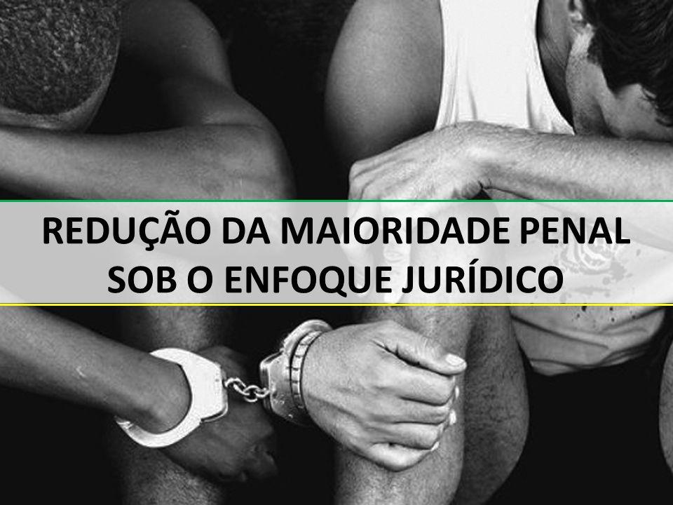 1 REDUÇÃO DA MAIORIDADE PENAL SOB O ENFOQUE JURÍDICO