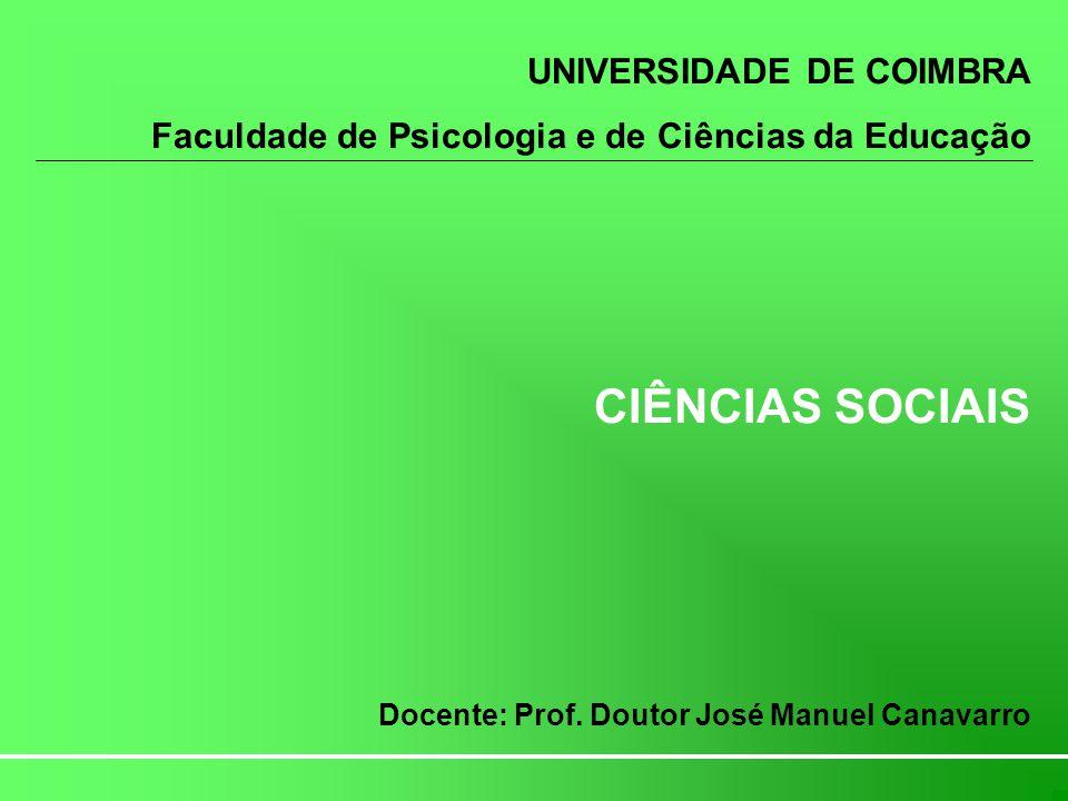 Introdução às Ciências Sociais O que podemos entender como teoria sociológica.