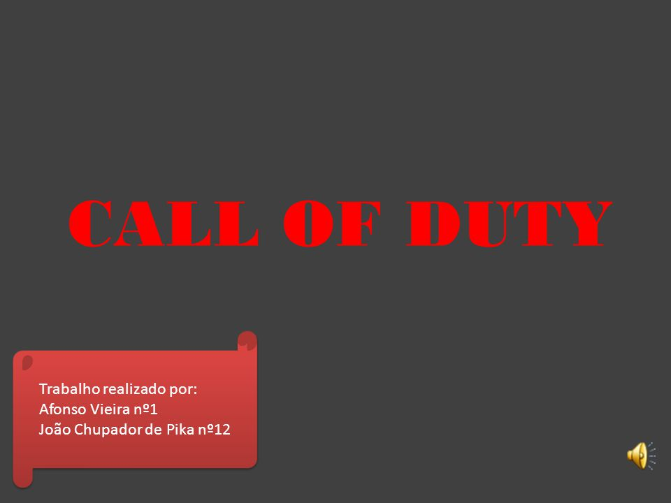 Call of Duty: Modern Warfare 3 Este Call of Duty: Modern Warfare 3 baseado na atualidade.