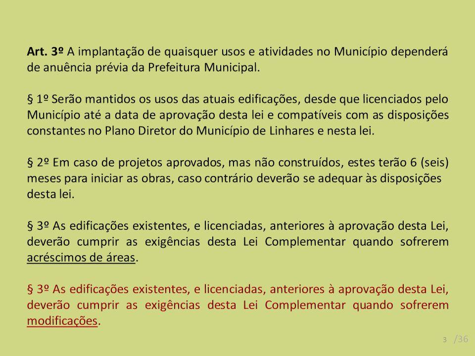 14 /36 SEÇÃO II Da Área Urbana de Dinamização II Art.