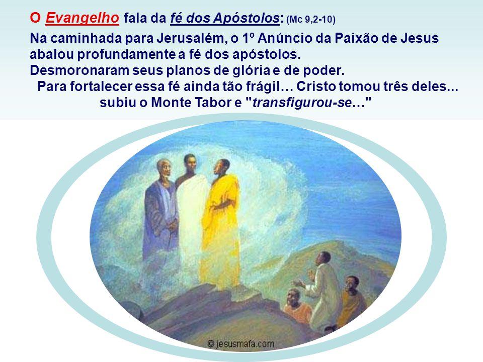 Na 2ª Leitura, São Paulo retoma a figura de Isaac, subindo o monte Moriá, com a lenha do sacrifício às costas, como imagem de Cristo que sobe o monte Calvário, carregando às costas o lenho da Cruz.
