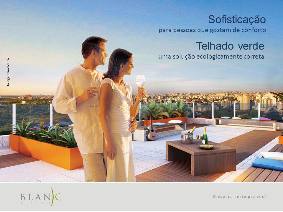 lounge panorâmico Telhado verde uma solução ecologicamente correta Sofisticação para pessoas que gostam de conforto