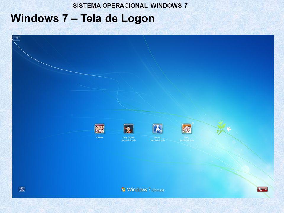 Área de trabalho Ícones Barra de Tarefas Windows 7 - Desktop Indicação de Ícone de Atalho SISTEMA OPERACIONAL WINDOWS 7 Gadgets