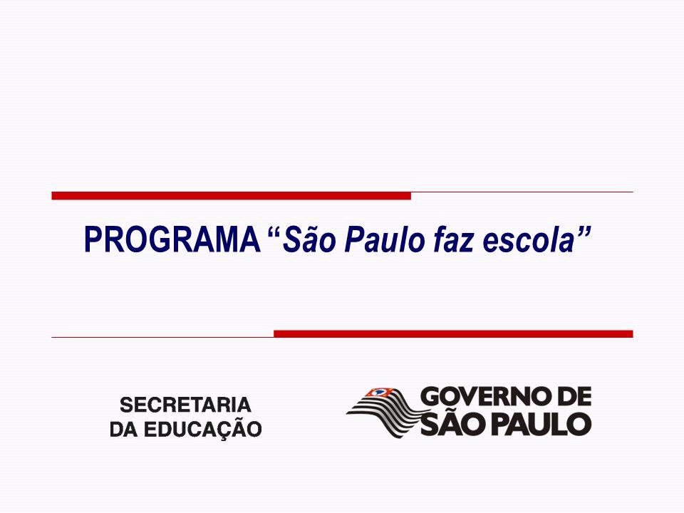 "Profª Maria Inês Fini Slide 1 PROGRAMA "" São Paulo faz escola"""