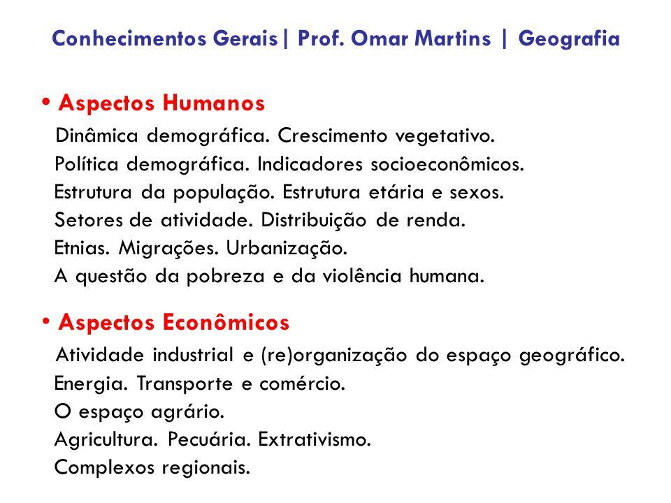 Aspectos Humanos Dinâmica demográfica.Crescimento vegetativo.