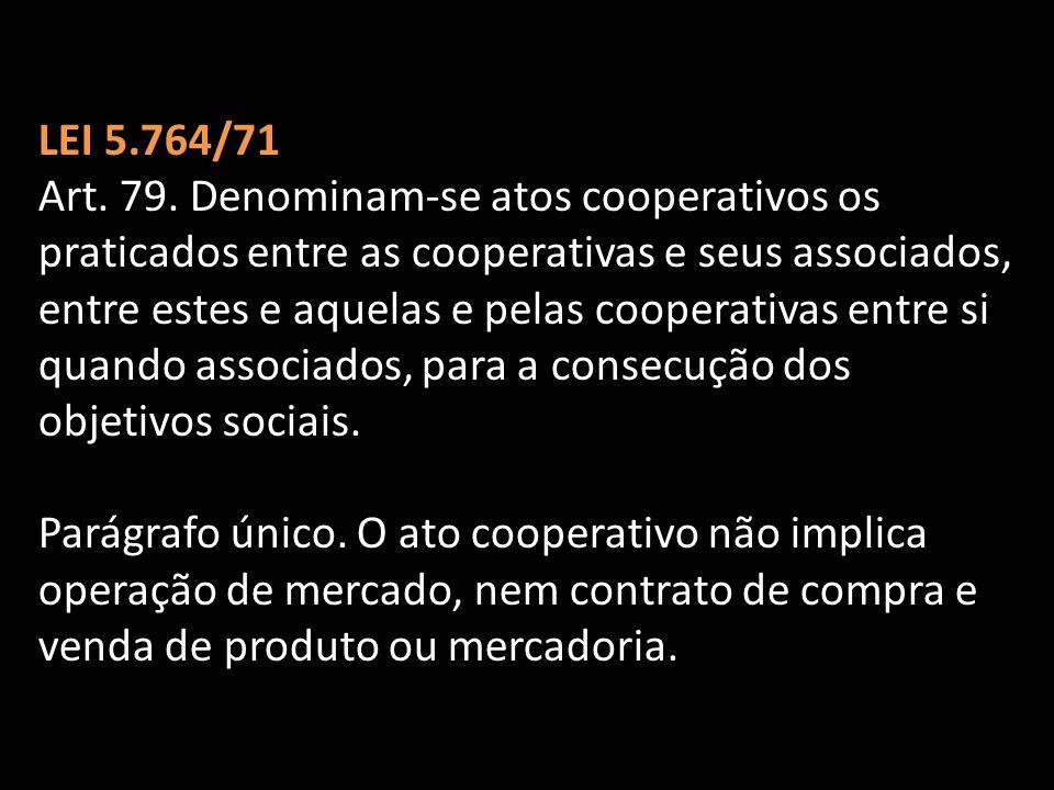 LEI 5.764/71 Art.79.