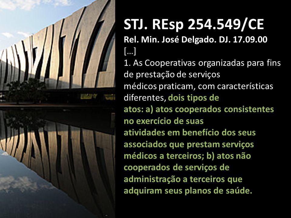 STJ.REsp 254.549/CE Rel. Min. José Delgado. DJ. 17.09.00 […] 1.