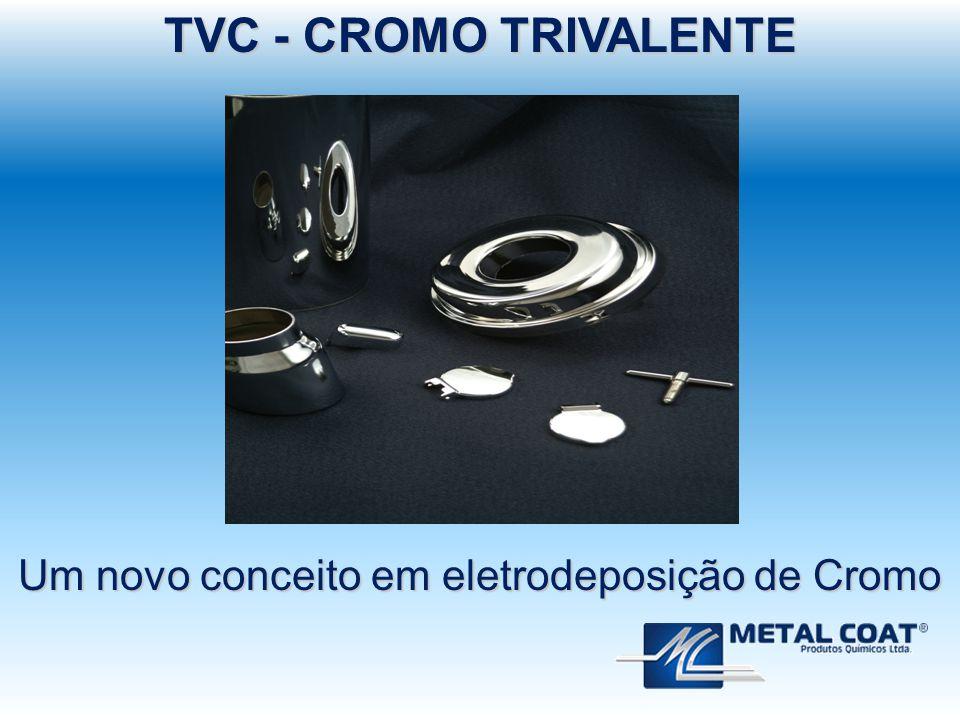TVC - CROMO TRIVALENTE Um novo conceito em eletrodeposição de Cromo
