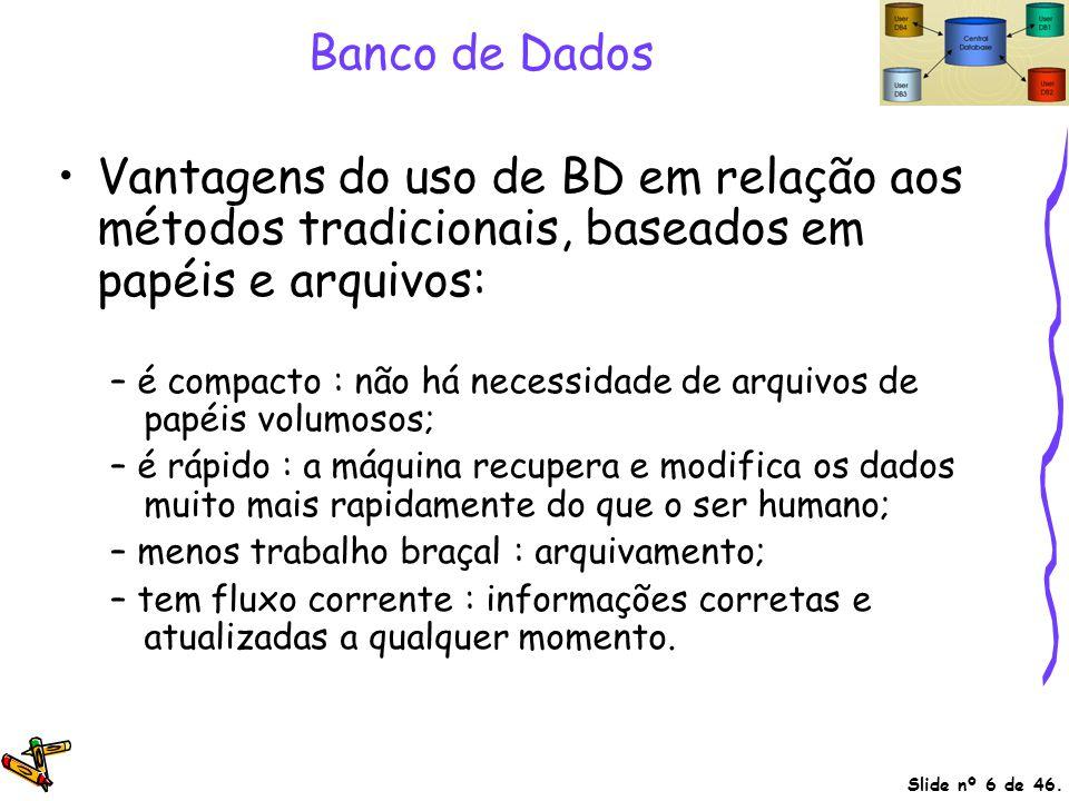 Referências Bibliográficas Tutoriais, apostilas e cursos sobre Bancos de Dados e SQL.