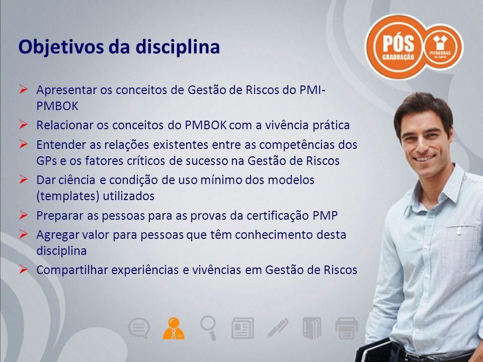 Adriano Graziosi & Márcio MoreiraUnidade 0 - slide 2 de 5Gestão de Projetos de TI - GPTI Objetivos da disciplina  Apresentar os conceitos de Gestão d