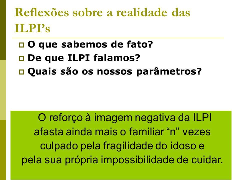 Moradia e Arranjos familiares Lima-Costa, 2004; Giacomin et al, 2007; IBGE, 2008 99% vivem na comunidade: 16% moram sozinhos 65% moram com filhos <1 % dos idosos moram em ILPI's