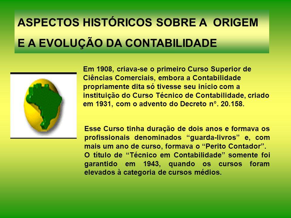 Em 1870, ocorreu o reconhecimento oficial da Associação dos Guarda-Livros da Corte, pelo Decreto Imperial nº 4.475.