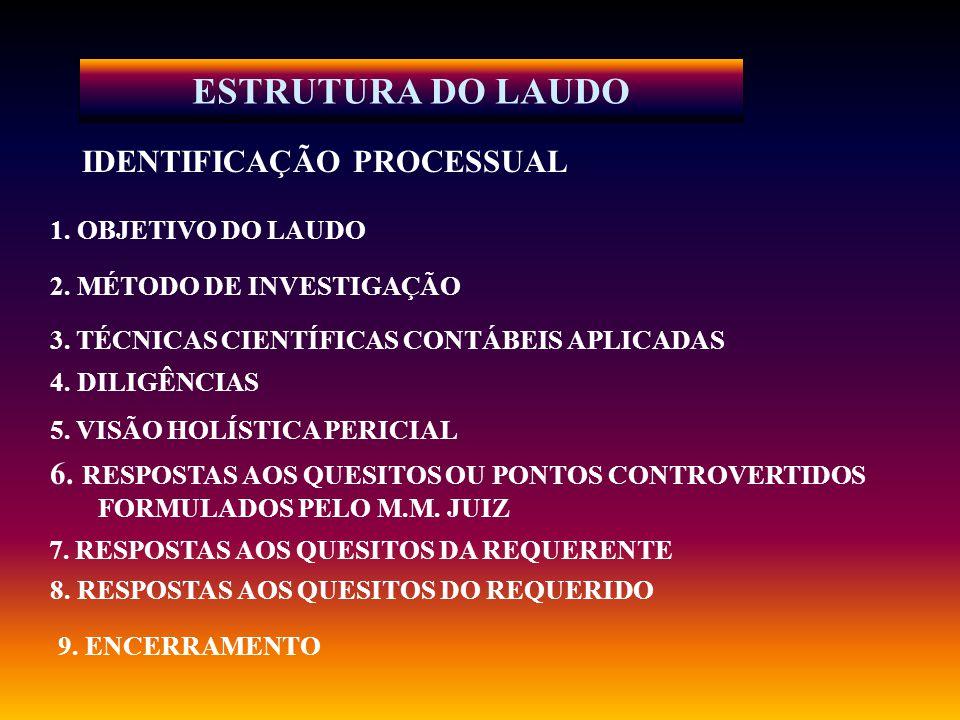 LAUDO PERICIAL - Conceito O laudo é a peça escrita, na qual os peritos contábeis expõem, de forma circunstanciada, as observações e estudos que fizeram e registram as conclusões fundamentadas da perícia.