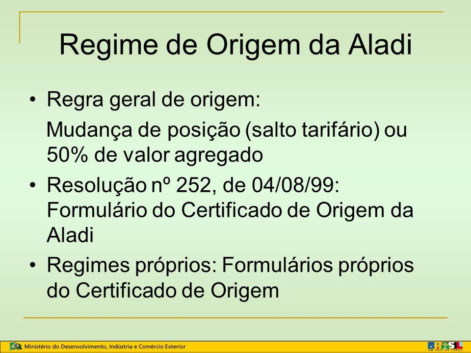Estrutura comum das regras de origem 1. CRITÉRIOS DE ORIGEM 1. CRITÉRIOS DE ORIGEM 2. ACUMULAÇÃO 3. DE MINIMIS 4. OPERAÇÕES INSUFICIENTES 5.TRANSPORTE
