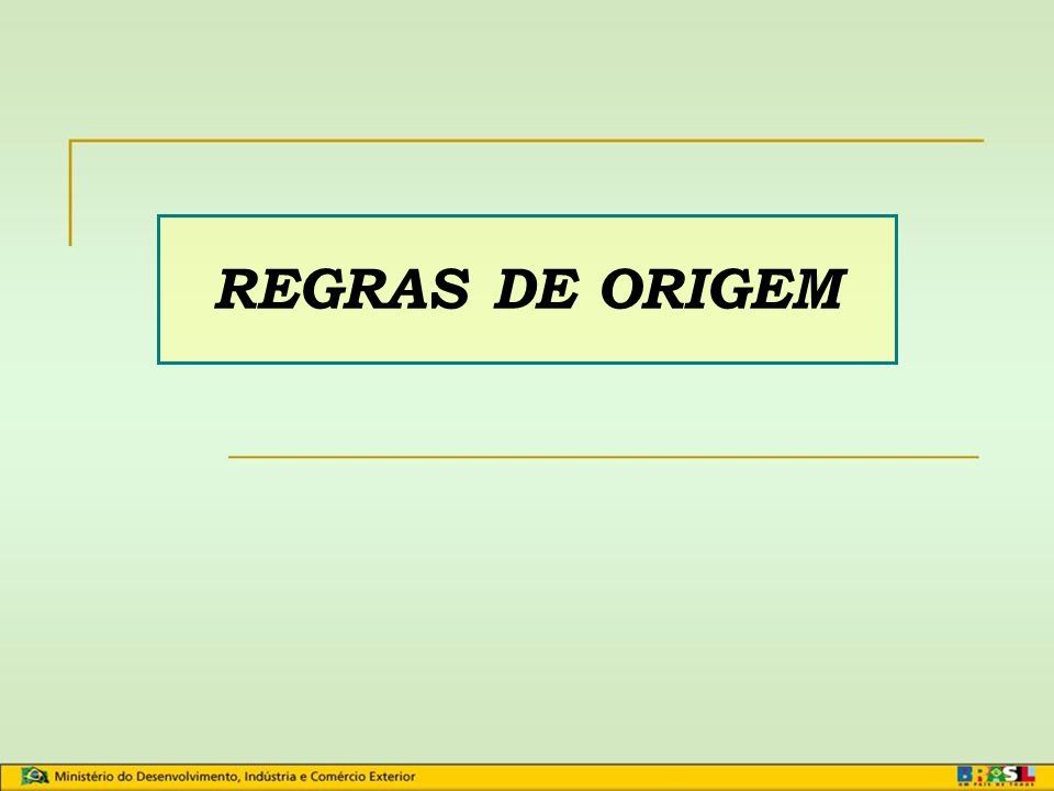 Certificação de Origem Aladi e Mercosul e Sistema Geral de Preferências Cibele L Oldemburgo Analista de Comércio Exterior MDIC/SECEX/DEINT Goiânia, ab