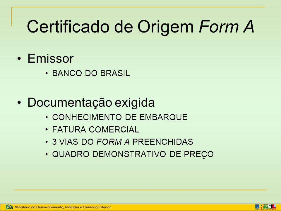 Sistema Geral de Preferências - SGP  Produtos elegíveis são identificados por meio do código tarifário (nomenclatura) de cada outorgante  Sistema Ha