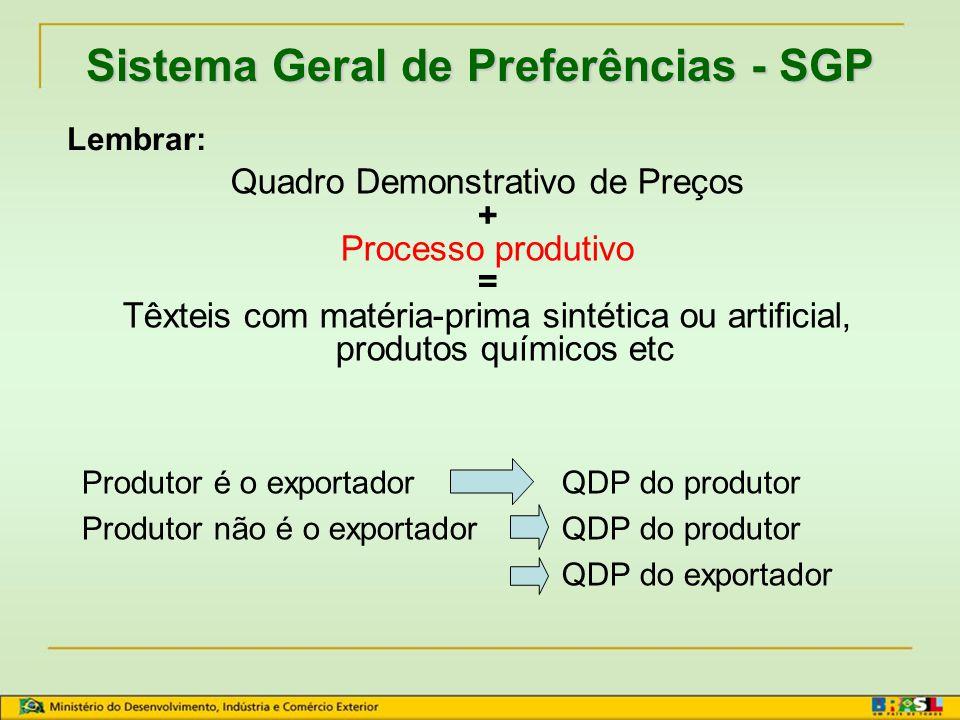 Quadro Demonstrativo de Preço Depende do esquema EX-FÁBRICA (material importado calculado pelo custo aduaneiro) ou FOB (material importado calculado p