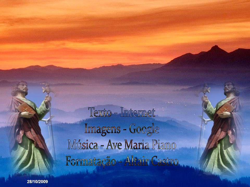 9.º Dia - São Judas Tadeu, Apóstolo e Mártir, que experimentastes no convívio com Cristo o infinito amor do seu Coração, alcançai-nos a graça da conve